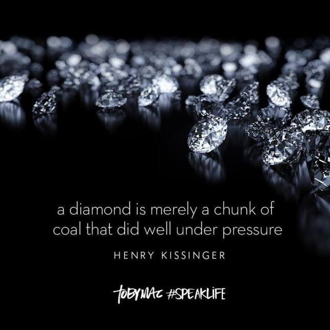 Diamonds - Coal that Did Well Under Pressure