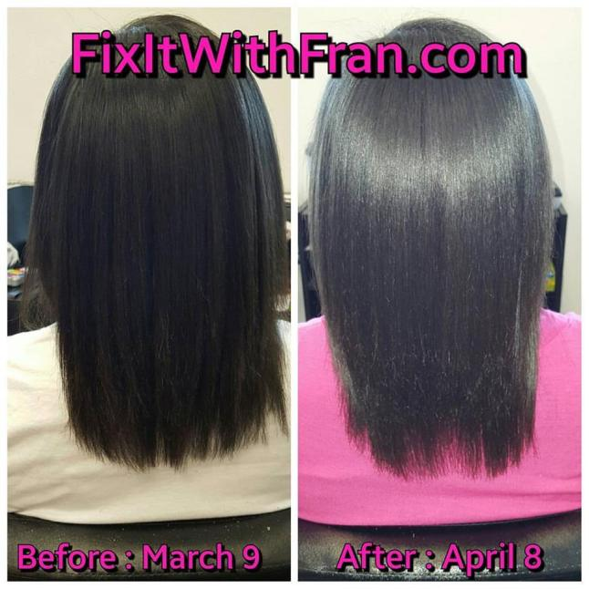 30 Day Hair Skin and Nails_Before and After