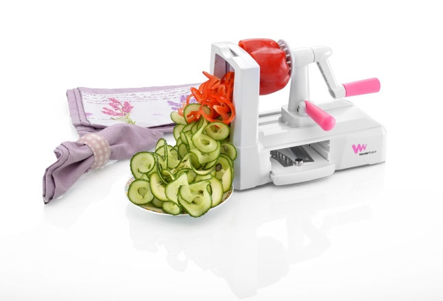 WonderEsque Tri Blade Compact Spiralizer Review on Fix_It_With_Fran_dot_com