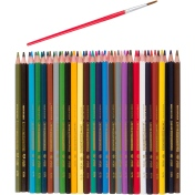 Markers or Color Pencils by FixItWithFran