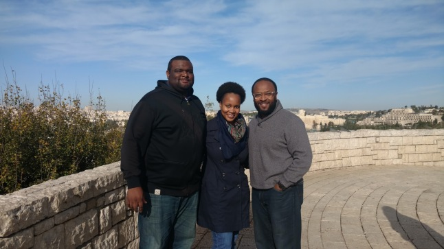 TeamBHenry with our Pastor Bishop R. C. Blakes Jr. in Jerusalem