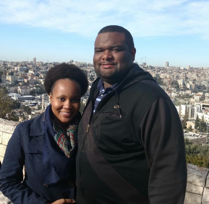 In Jerusalem the Holy City