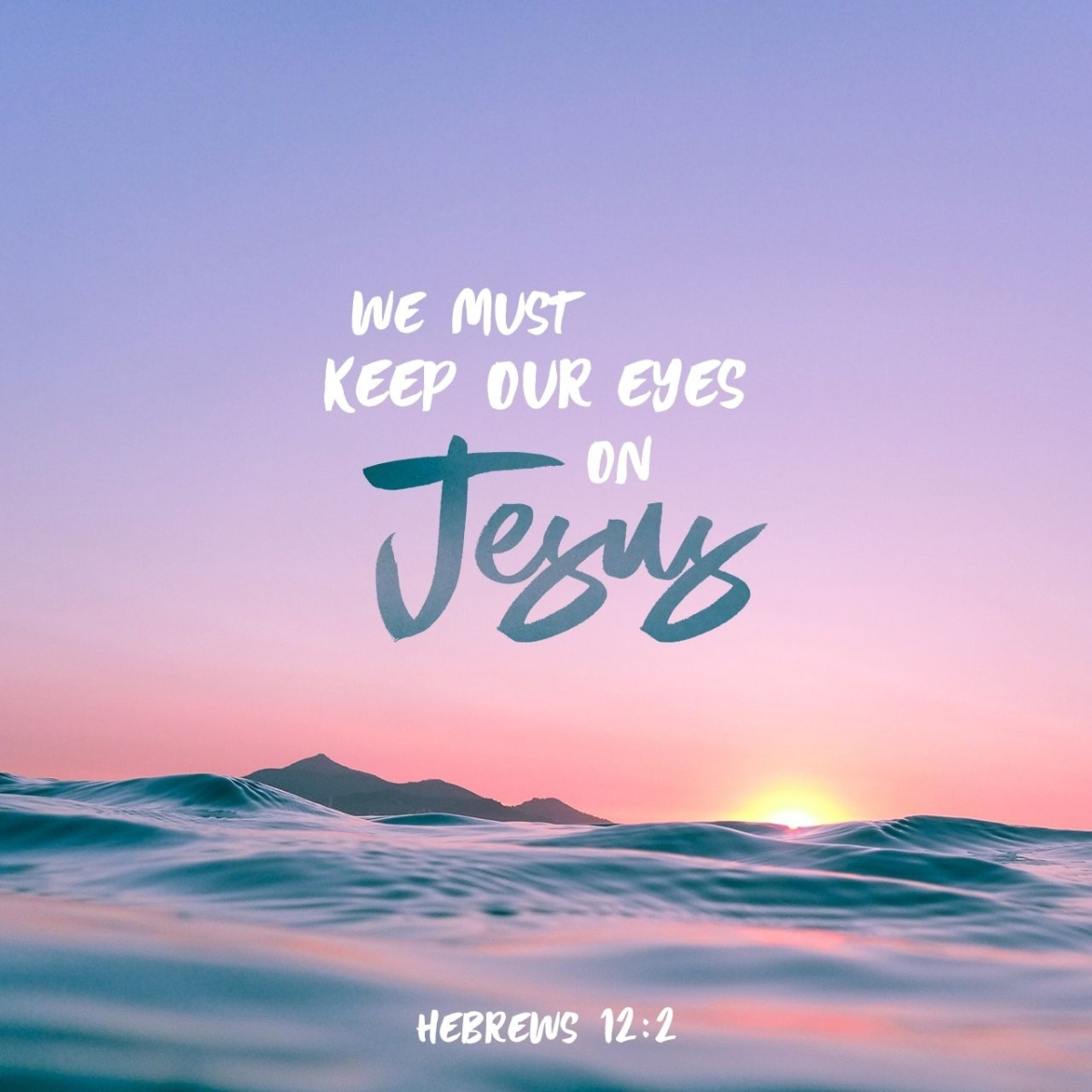 Verse Of The Day Hebrews 12 2 Fix It With Fran All