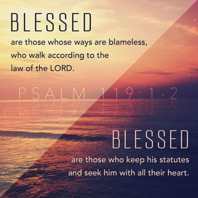 Psalm 119:1-2