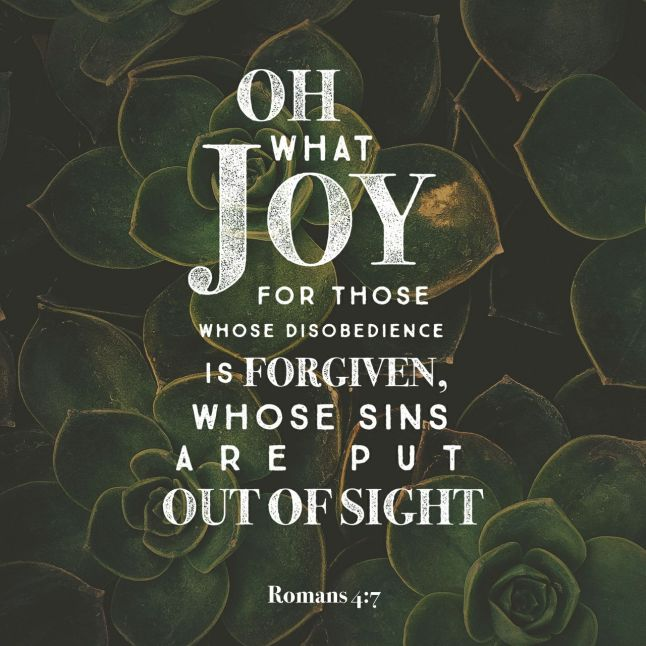 Verse of the Day Romans 4:7